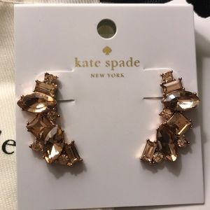 New! Kate Spade Rose Gold Plated Earring!